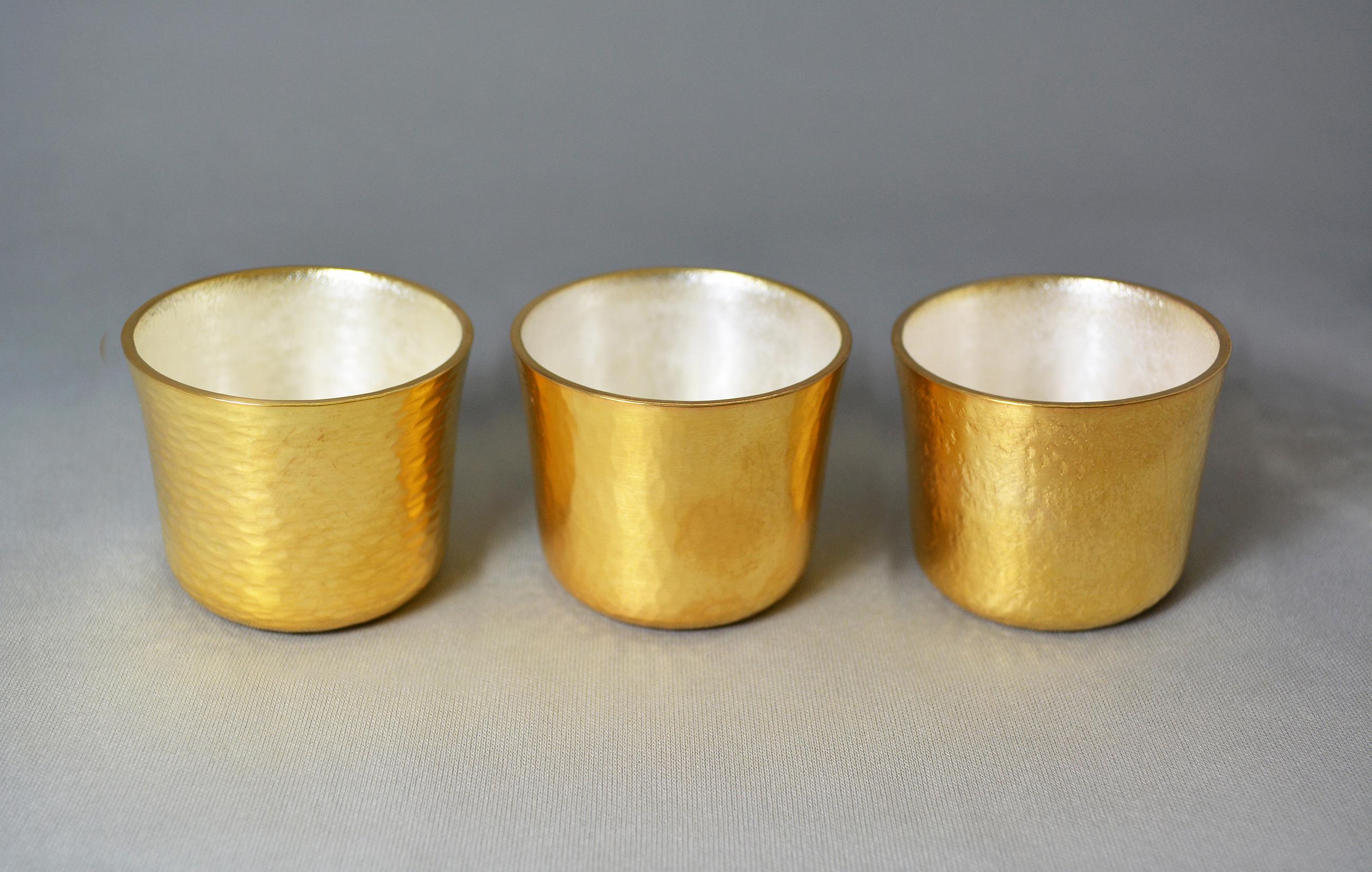 真鍮製 / 本消金めっき、消銀めっき