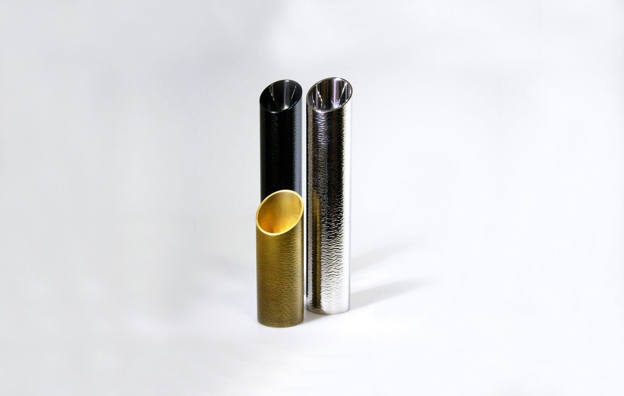 真鍮製 / 黒Niめっき、Rhめっき、古び金めっき